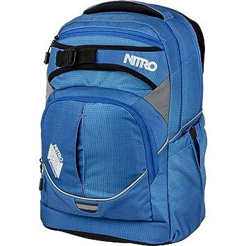 Nitro Unisexe Sac à Dos Super Hero, Mixte, SUPERHERO, Blur Brilliant Blue