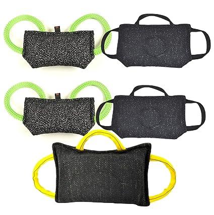 pet supplies puppy tug toy bundle 1 3 handle bite pillow 15 5
