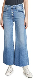product image for MOTHER Women's The Pixie Roller Ankle Fray Jeans