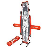 Gosports - Maniquí de Baloncesto Xtraman para Entrenamiento de Chupete, Color Rojo, 17,78 cm