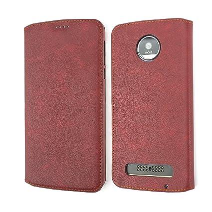 Amazon.com: Motorola Moto Z Case, Coodio Premium, funda de ...