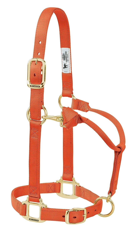 春新作の Weaver レザーオリジナル調節可能な3/ 4インチ or Horse 授乳用 あごと喉のスナップホルター B019U2RHEK 1