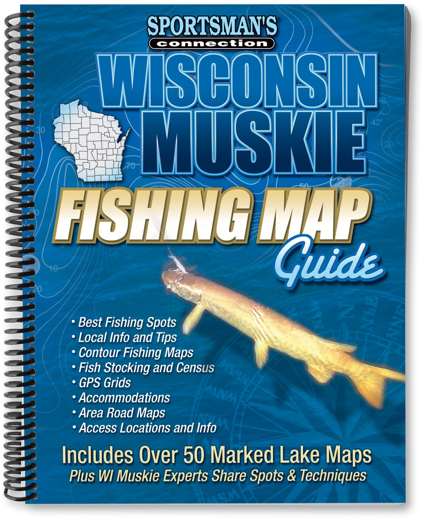 Wisconsin muskie fishing map guide fishing maps from sportsmans wisconsin muskie fishing map guide fishing maps from sportsmans connection sportsmans connection jim billig 9781885010377 amazon books geenschuldenfo Image collections