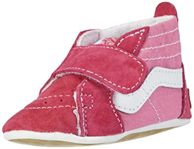 Vans Baby Girls' Sk8-Hi Crib (Infant) - Hot Pink - 1
