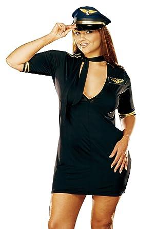 Mile high pilot costume for women