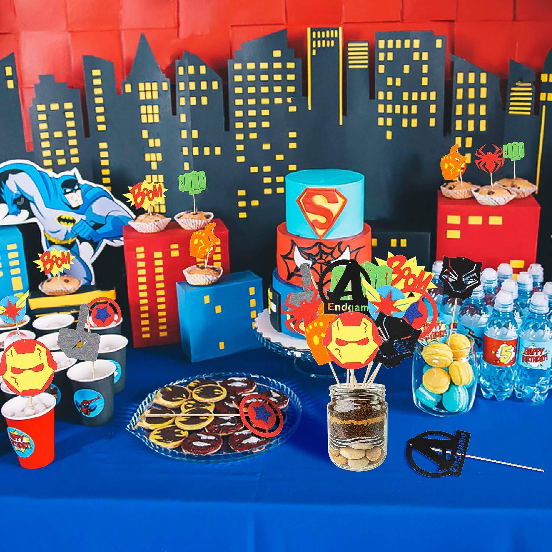 Amazon.com: Pantide, 30 piezas de superhéroes para ...
