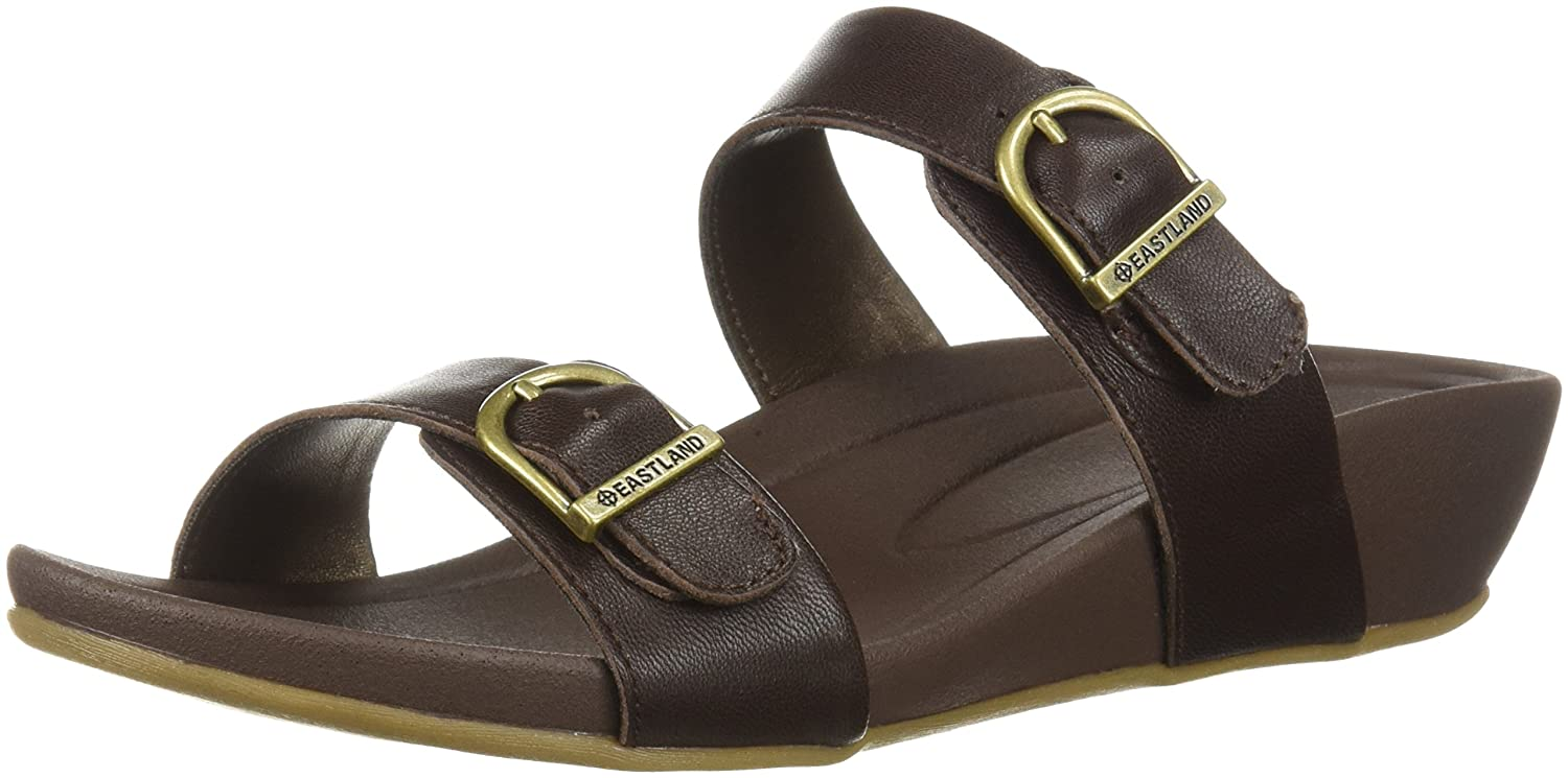 Eastland Women's Cape Ann Slide Sandal B076QHSH5Q 11 B(M) US|Walnut