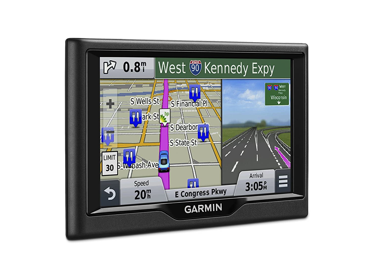 Garmin Gps Update >> Garmin Nuvi 57lm Gps Navigator System With Spoken Turn By Turn Directions 5 Inch Display Lifetime Map Updates Direct Access And Speed Limit