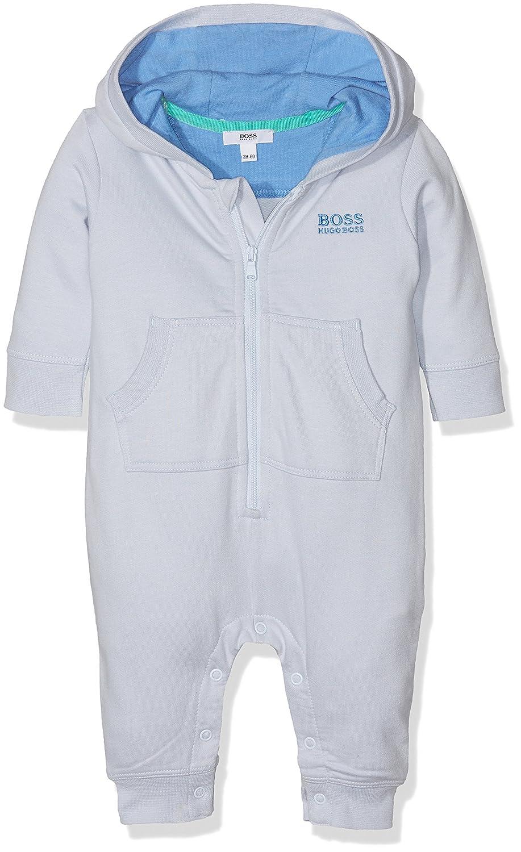 BOSS Baby Boys' Combinaison Onesie Bleu (CIEL) 18-24 Months J94190