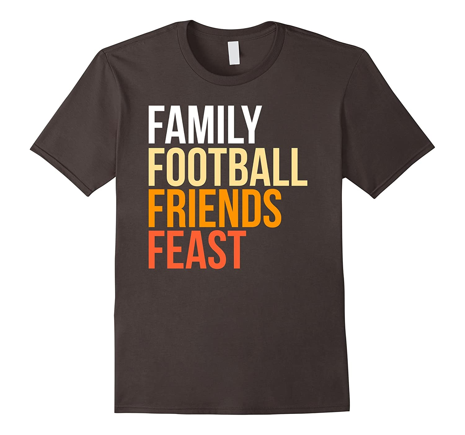 Family Friends Football Thanksgiving Day T-shirt Co.-ANZ