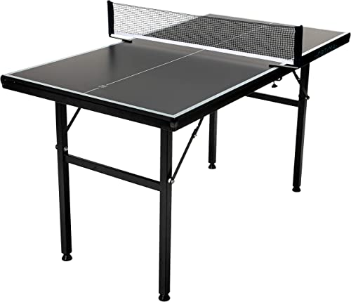 Franklin Sports Table Tennis Tables – Optima Table Tennis Tables – Indoor Outdoor Tables – Official Size Conversion Tops – Mid-Size Tables for Kids