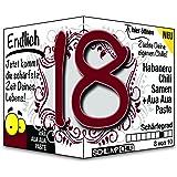 Endlich 18 - Eine tolle Geschenkidee zum 18. Geburtstag und ein witziges Geschenk für volljährige Männer und Frauen!