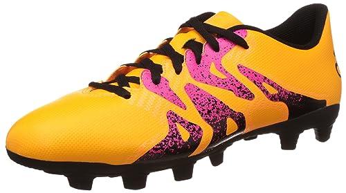 new product 862c0 6c66c adidas X 15.4 FxG, Chaussures de Foot Homme, Multicolore - Varios Colores  (Amarillo