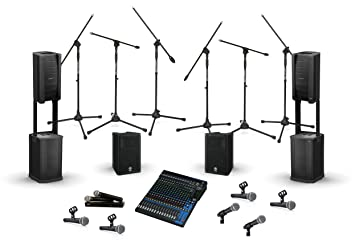bose f1 model 812. bose f1 model 812 sound system bundle with yamaha dxr speakers, mg20xu mixing console,