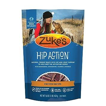 La cadera Acción Dog Natural de Zuke Trata