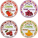 Stevita Stevia Sugar Free Hard Candy - Strawberry, Grape, Cherry, Orange