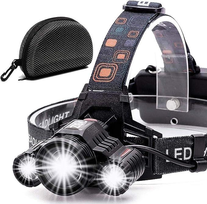 Best headlamp for hunting: Cobiz Brightest High 6000 Lumen LED Work Headlight