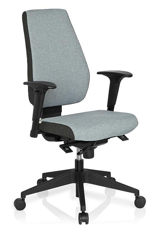Ruote girevoli per sedia da ufficio in poliuretano grigio