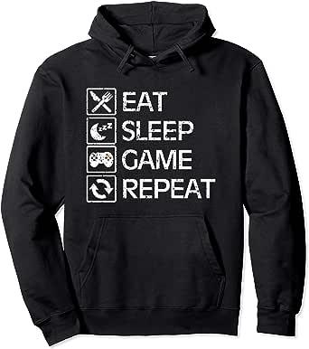Eat Sleep Drop Repeat  Morgz Kids Youtube Sweat Gift Mens Tee Birthday Hoody