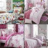 Catherine Lansfield Kids Childrens Boys Girls Duvet Cover Bedding Set