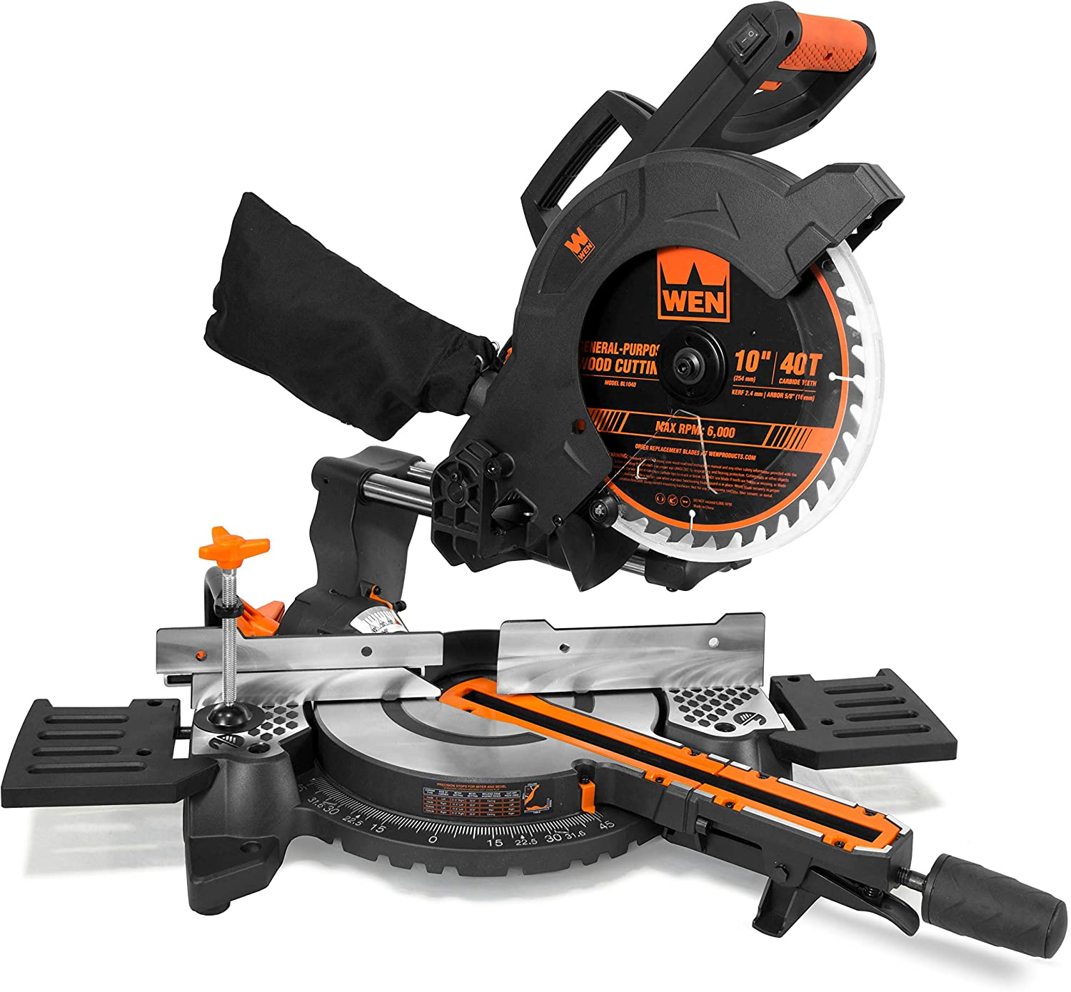 WEN MM1011 Compact Sliding Compound Miter Saw