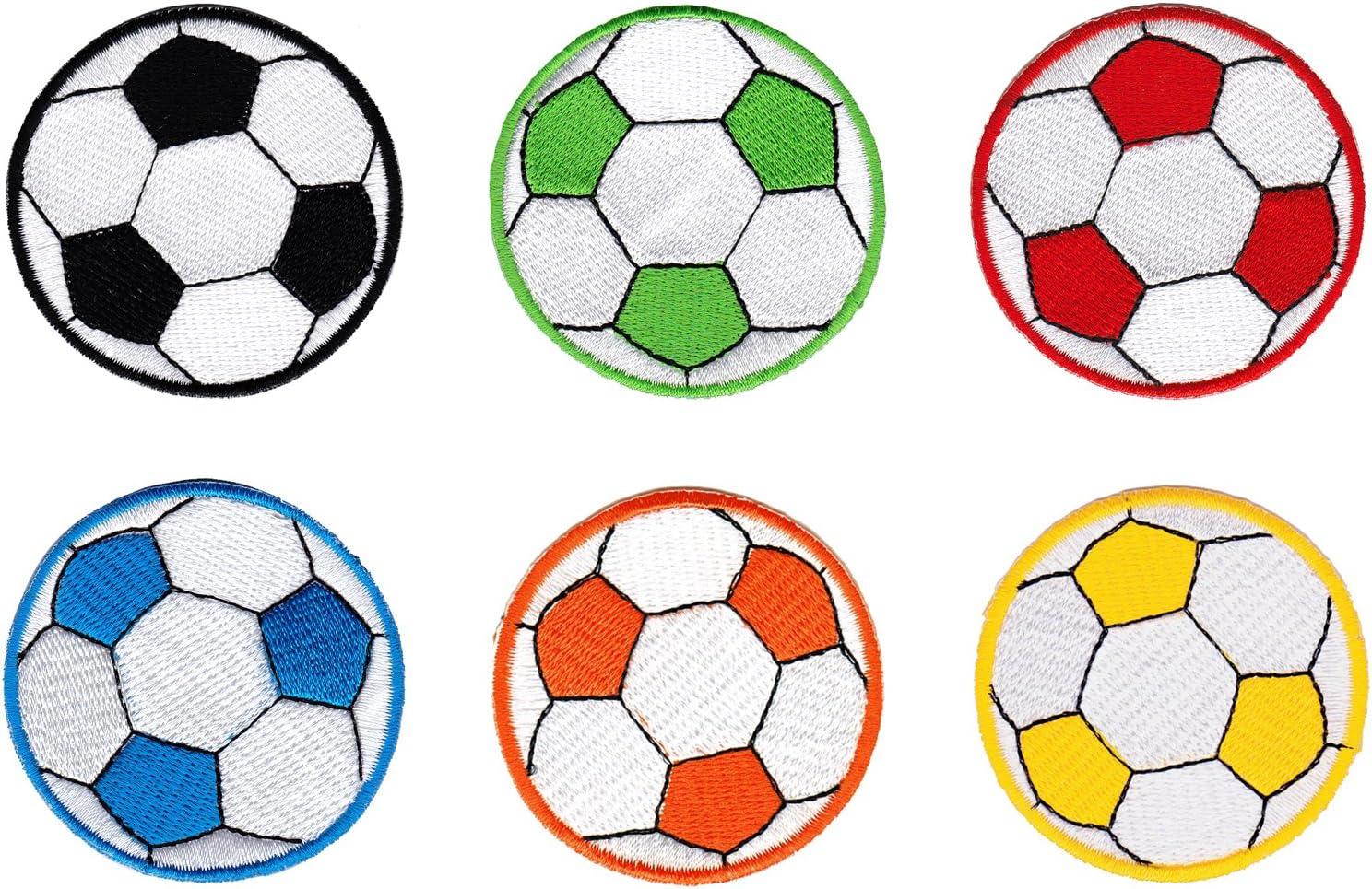 Balón de fútbol de fútbol parche plancha de planchar Iron on ...
