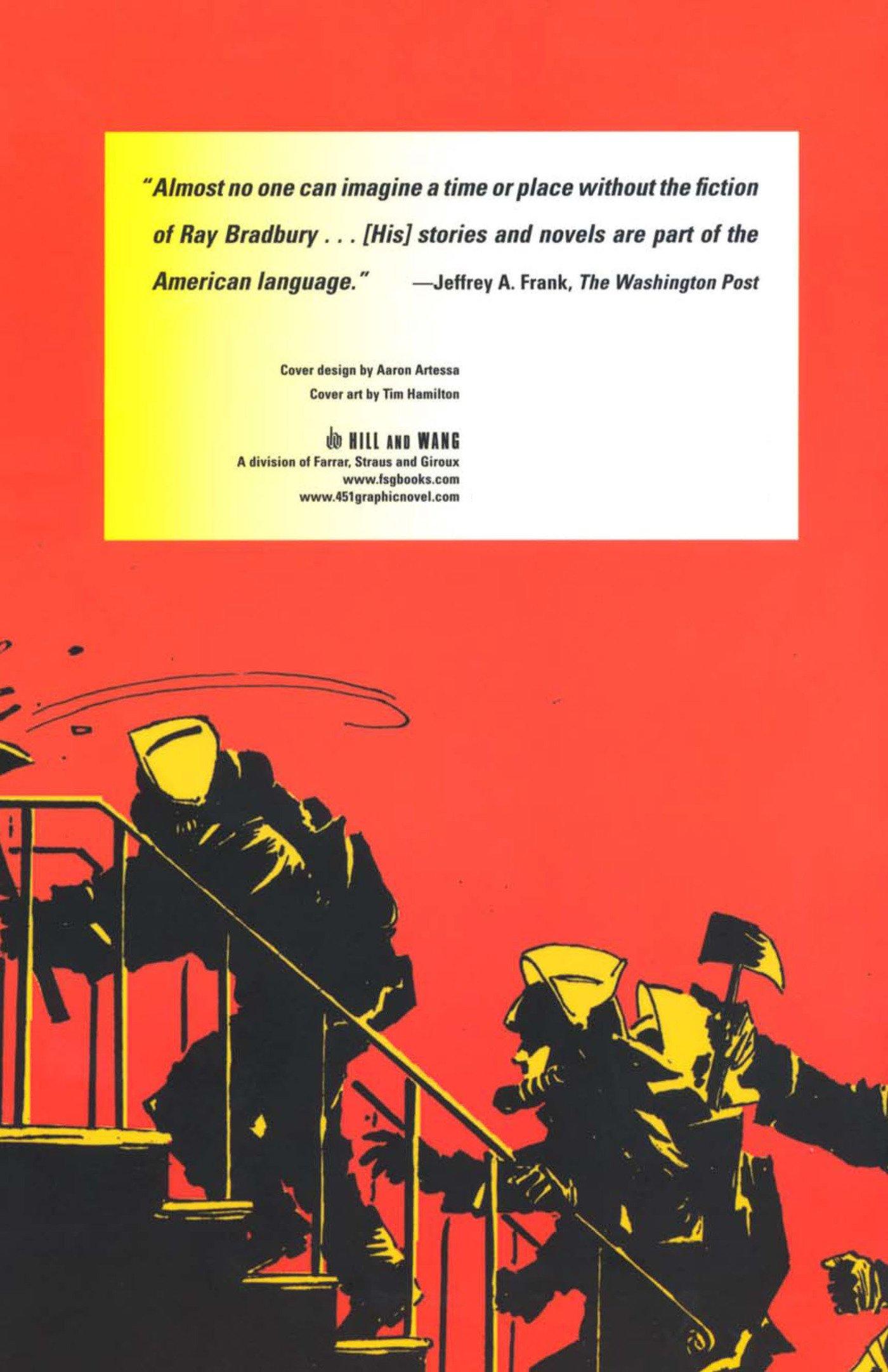 Amazon: Ray Bradbury's Fahrenheit 451: The Authorized Adaptation  (9780809051014): Ray Bradbury, Tim Hamilton: Books