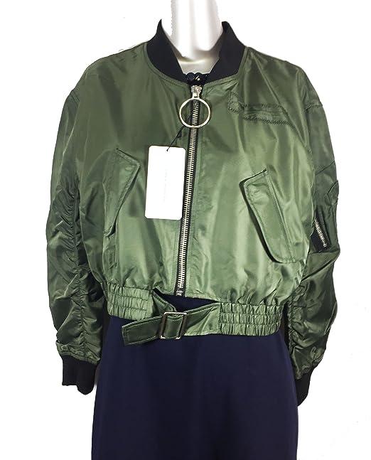 Zara recortada de la mujer Bomber chaqueta 5071/242: Amazon.es: Ropa y accesorios