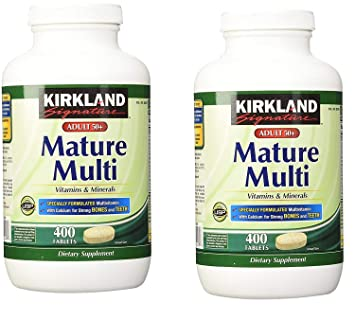 Kirkland signature mature adults multi vitamins