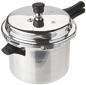 Prestige PPA5L Popular Aluminum Pressure Cooker, 5-Liter