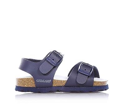 Grunland Luce unisex kinder, glattleder, sandalen, 24 EU