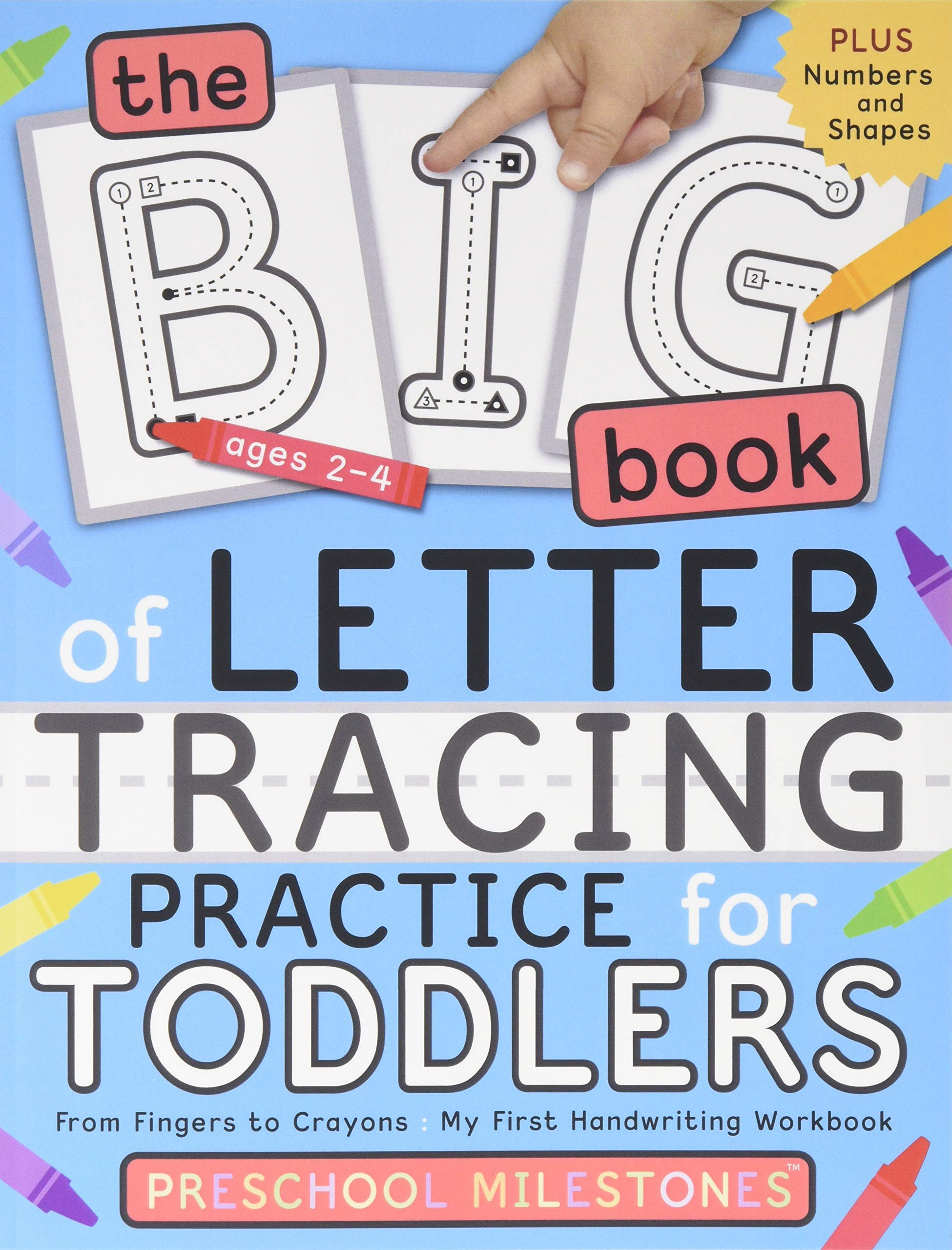 Book Letter Tracing Practice Toddlers
