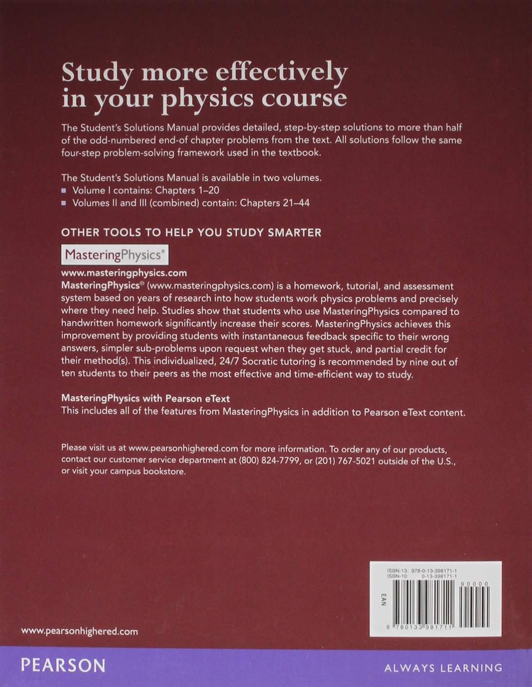 student s solution manual for university physics modern student s solution manual for university physics modern physics volume 1 chs 1 20 hugh d young roger a dman 9780133981711 books
