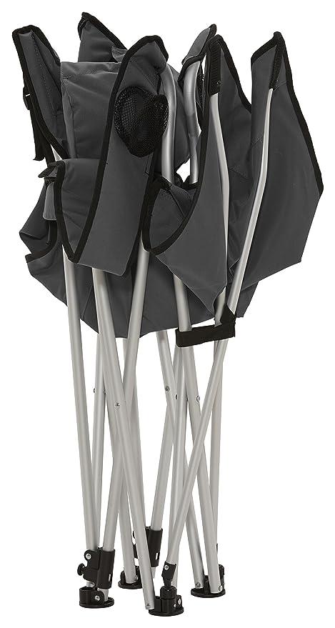 GRAND CANYON Giga - silla de camping plegable con apoyapiés ...
