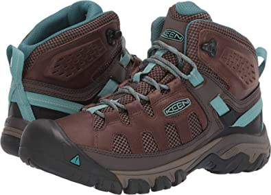 32aa96547941 Keen Targhee Vent Mid W Bungee Cord Canton Womens Hiking Boots Size 5M