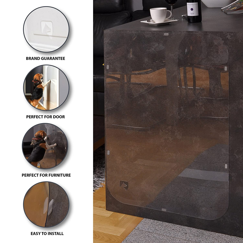 PETFECT Tür-Kratzschutz für Innen & Außen ...