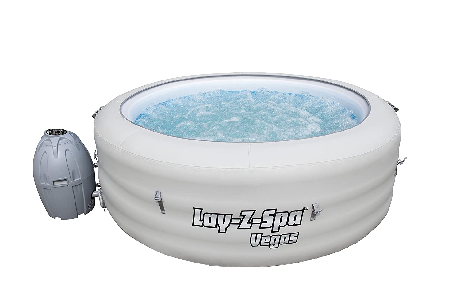 Amazoncom Lay Z Spa Vegas Inflatable Portable Hot Tub Spa 4 6