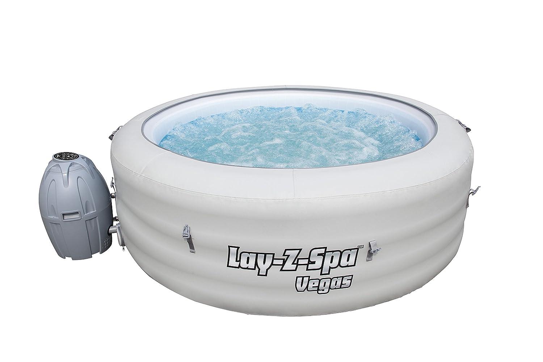 Amazoncom Lay Z Spa Vegas Inflatable Portable Hot Tub Spa 4 6