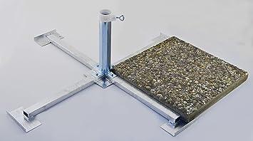 Amazonde WEGEPLATTEN X Cm SONNENSCHIRMSTÄNDER Aus Mm Ø - Betonplatten 100 x 40