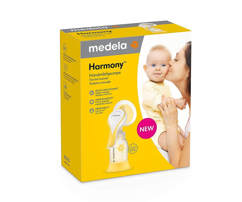 besonders leicht und bequem Medela Harmony Flex Handmilchpumpe