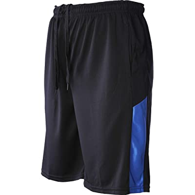 Mens Active Shorts Quick-Dry Lightweight Workout Gym Basketball with Pockets 5 Pack