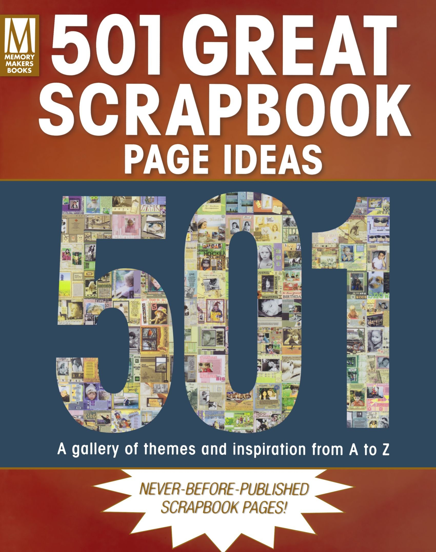 501 Great Scrapbook Page Ideas Memory Makers 9781892127525 Amazon