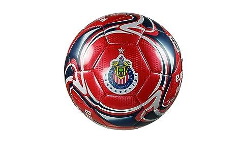 4c36ca7a2f27 Chivas De Guadalajara Authentic Official Licensed Soccer Ball Size 5 -01-1