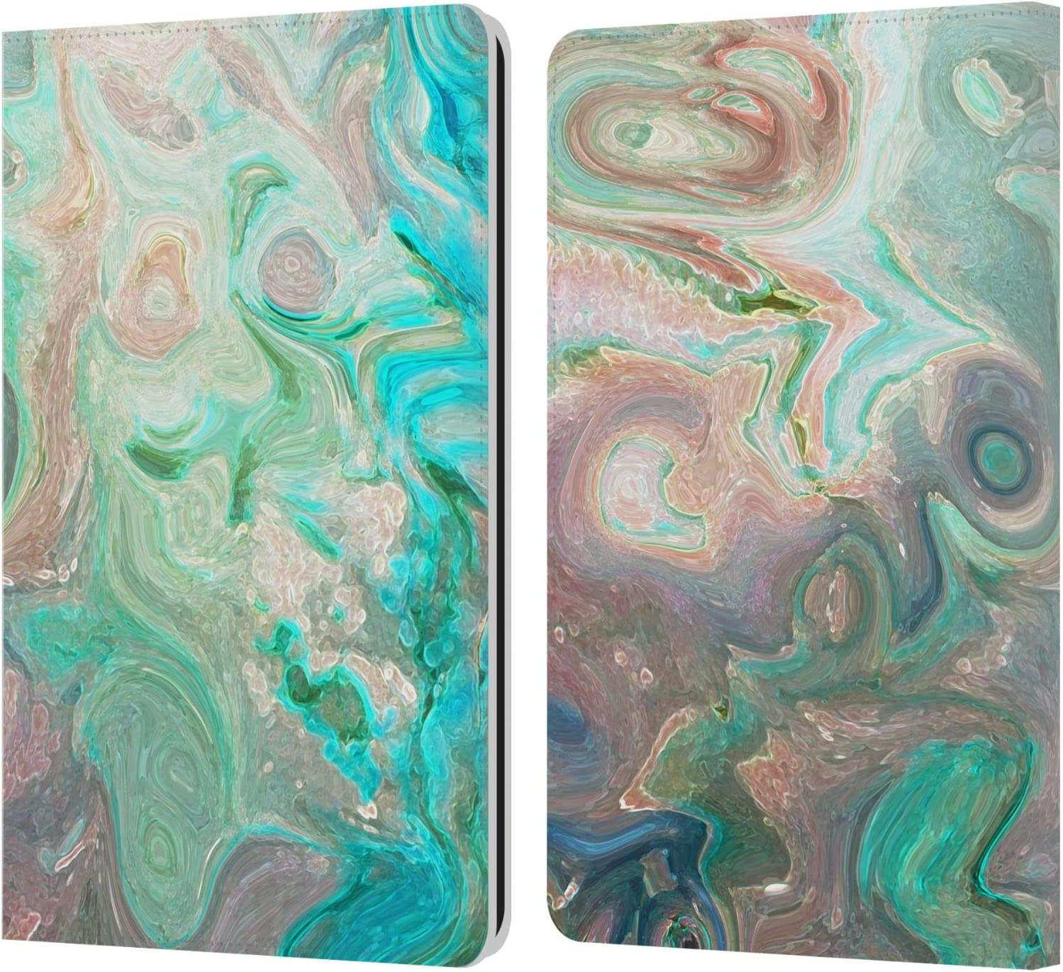 Head Case Designs Officially Licensed Catspaws The Blue Nature & Colours Leather Book Wallet Case Cover Compatible with Kindle Paperwhite 1/2 / 3