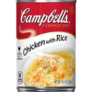 Campbell's Condensed Soup, Chicken with Rice, 10.5 oz