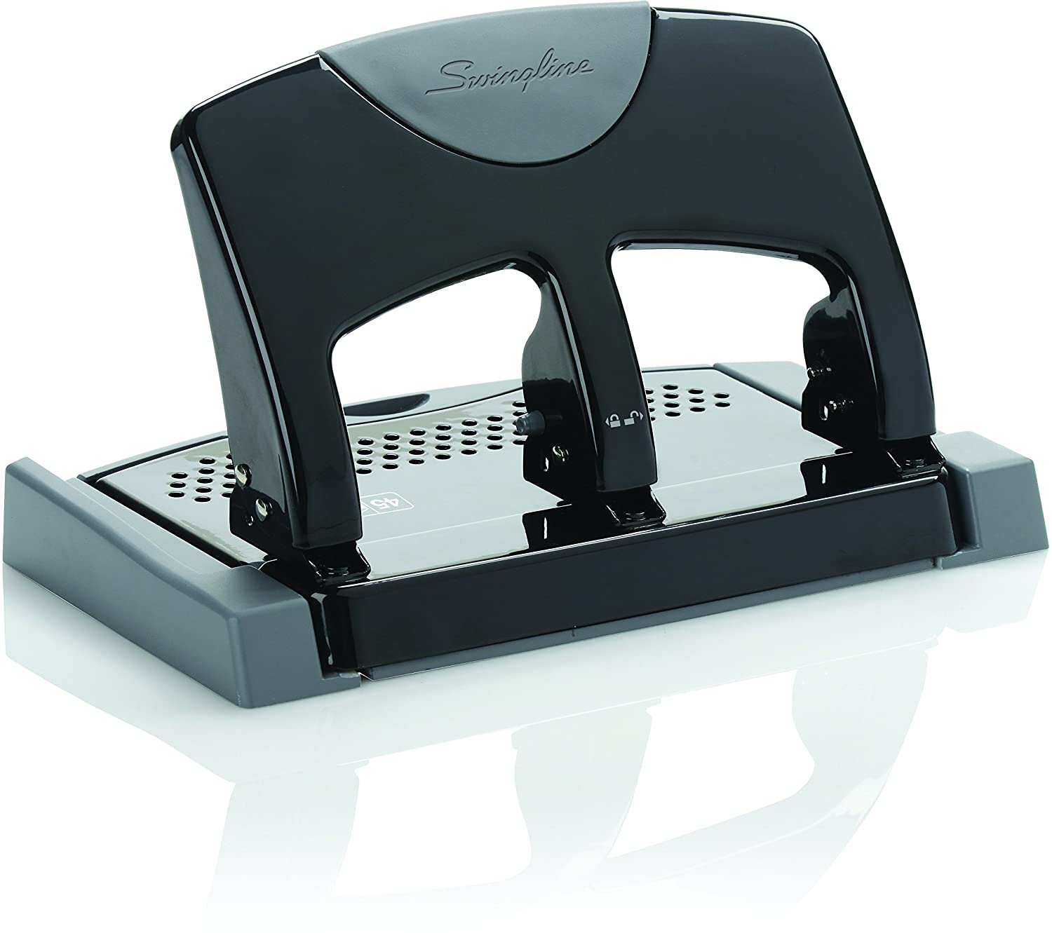 Swingline SmartTouch 3-Hole Punch, Reduced Effort, 12 Sheet Punch Capacity (A7074134) ACCO Brands Canada Inc.