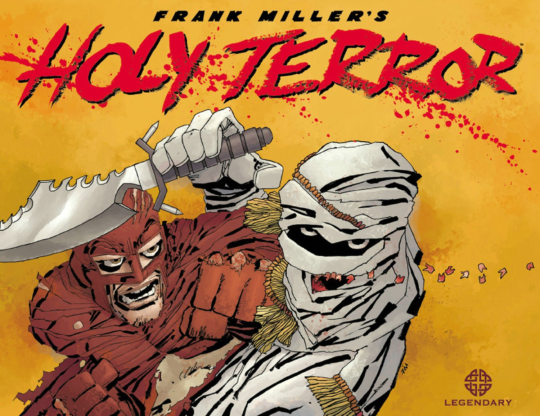 Holy Terror Miller Frank 8601416229973 Amazoncom Books
