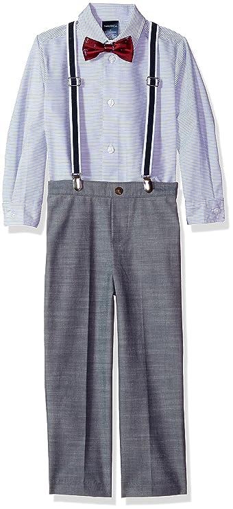 5d7430231597 Amazon.com  Nautica Boys  Suspender Set With Shirt