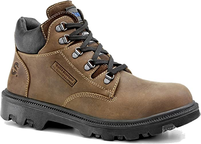 Secor Sherpa Waxy Brown Steel Toe Cap