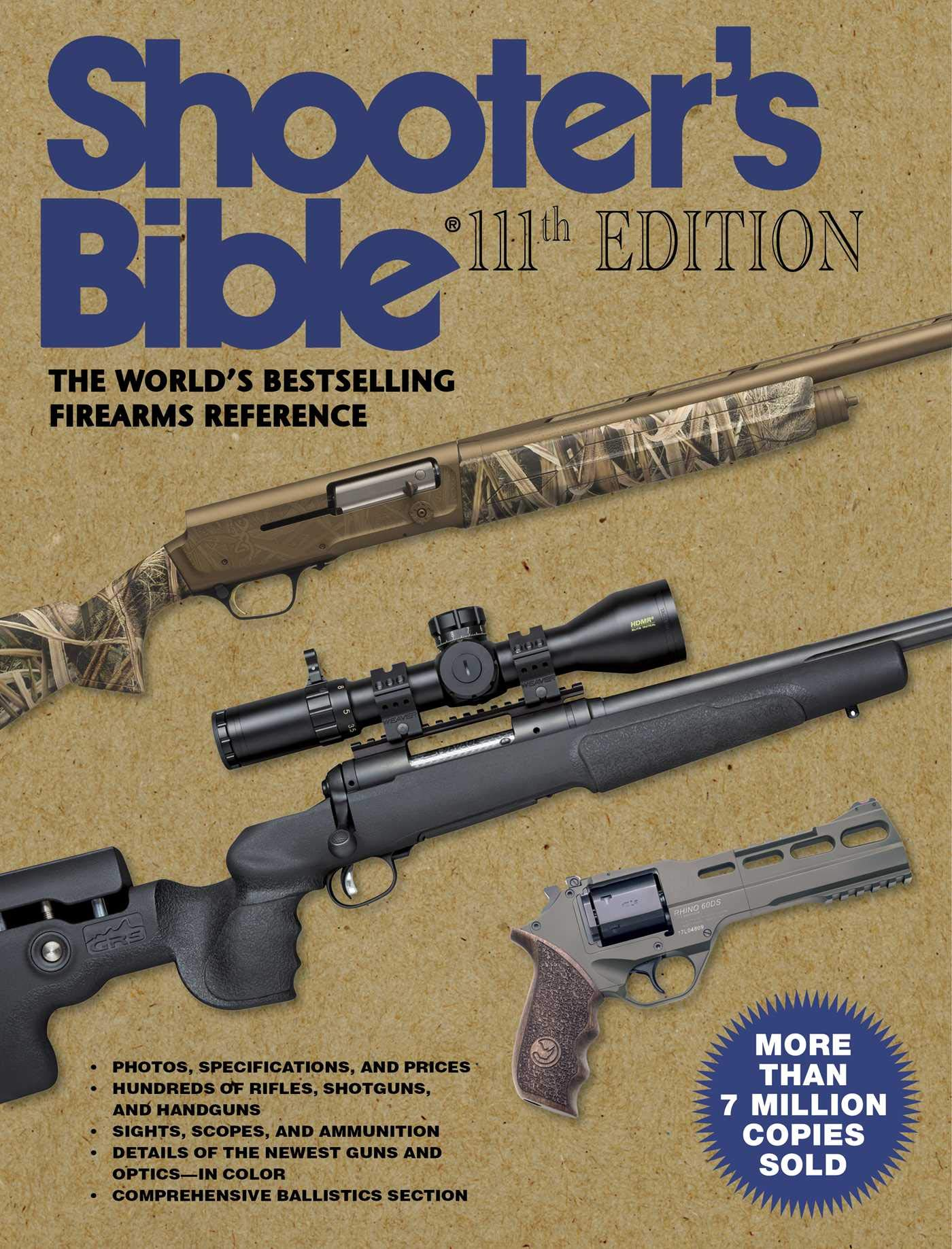 Amazon com: Shooter's Bible, 111th Edition: The World's